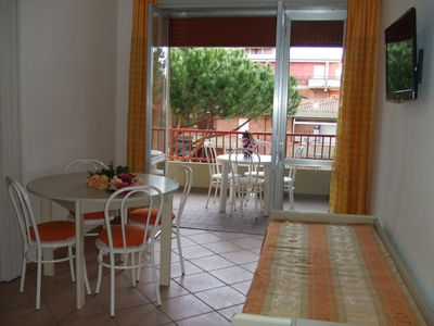 Photo for Modern 2-room-apartment close to the beach and amid the pinewood in Principina A Mare