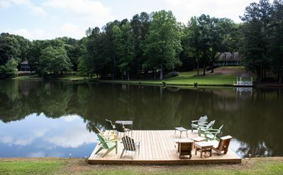 Photo for Still Waters is your 14-acre hideaway on a lake, but still near everything!