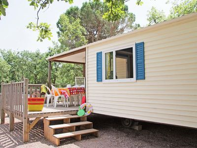 Photo for Camping Lou Cantaire *** - Mobile home Méditerranée 3 Rooms 4 Persons