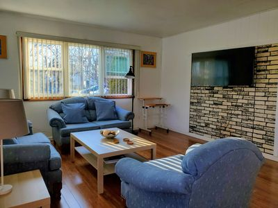 Photo for Spacious home minutes away from O'Hare/Train to DT, 2 car garage & private yard