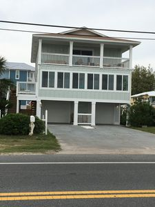 Photo for Large home on Private Beach, Game Room, Fully updated, large third story deck