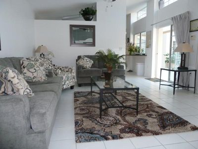 Photo for 3241SW. Lovely 3 Bedroom 3 Bath Villa with Private Courtyard Style Pool Area