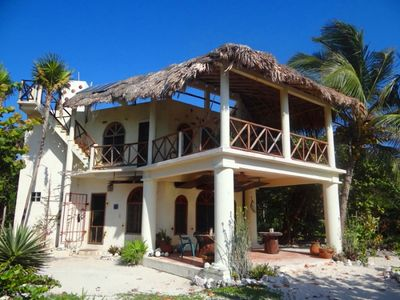 Photo for Enchanting Beach Villa- Snorkeling, Fishing, Kayaking Costa Maya Reefs