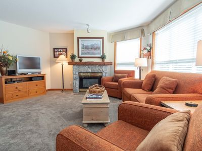 Photo for Ski-in/Ski-out 2BDR Condo with Pool & Hot Tub  Enjoy Views of the Ski Hill