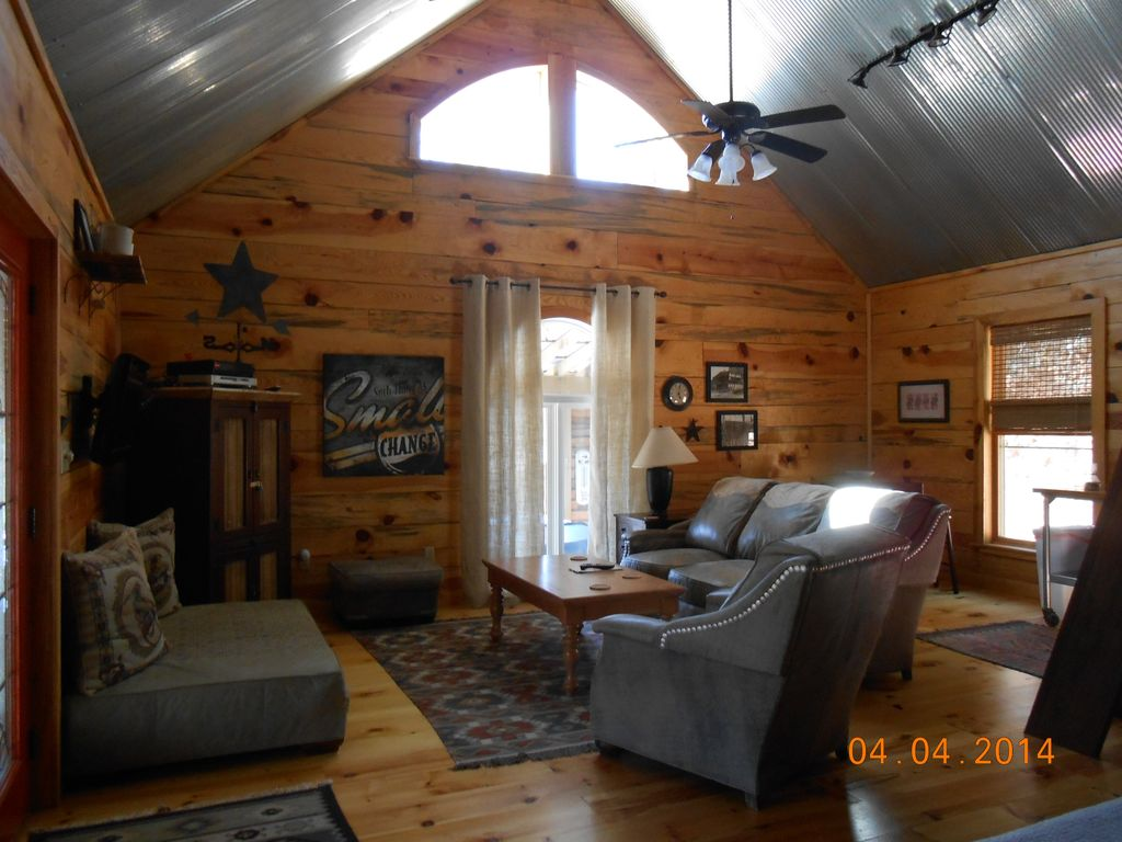 Property Image#6 Caddo River Cabin, Near Lake Ouachita/ Hot Springs Outdoor  Kitchen