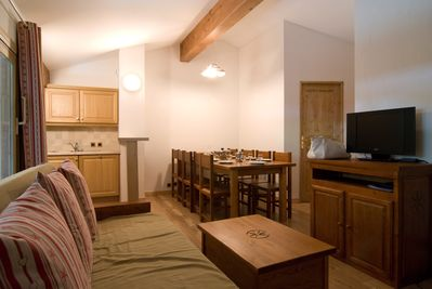 Come and stay in our cozy and rustic apartment in Pralognan-la-Vanoise!