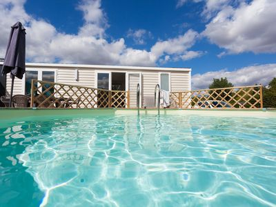 Photo for Cottage with individual heated pool