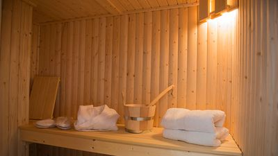 Contact us to book the Private sauna with robes and towels (extra £70)