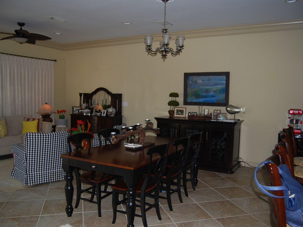 Dining Room Off Kitchen With Sitting To The Left
