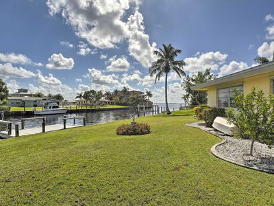 Photo for NEW! Waterfront Port Charlotte Cottage w/ Dock!
