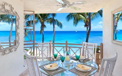 Photo for *EAT FOR FREE* Beachfront, Mesmerizing Ocean views, AC, Free Wifi, Beach Loungers/Umbrellas