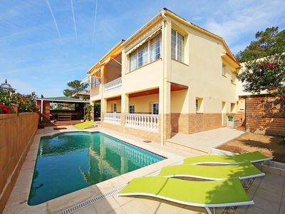 Photo for This 5-bedroom villa for up to 14 guests is located in Lloret De Mar and has a private swimming pool