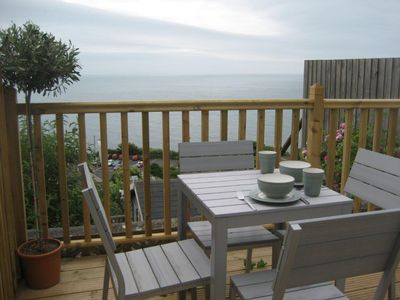 Photo for Titha's Cottage - Fully refurbished with lovely sea views