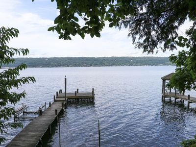 Photo for Beautiful West Shore Multi-Family Home with Large Private Dock-Pet Friendly!