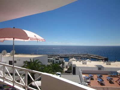 Photo for Studio Apartment with Stunning Sea Views and close to the Marina and Restaurants