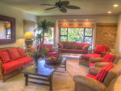 Photo for Huge 5 BR Resort Home, Easy walk to Poipu Beach, Fitness Club Included