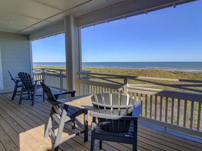 Photo for It'll Do: FREE CART, AMAZING Ocean Views, Private Pool, Boardwalk to Beach,
