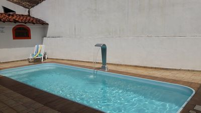 Photo for 2 bedroom house with pool in gated community