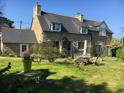 Photo for Stone house, 200m from the sea, enclosed garden, fully equipped, pets welcome