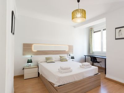 Photo for Malaga center apartment + parking, Marmoles A