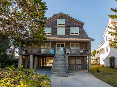 Photo for Fantastic Island Home with Open and Screened Porches, Creek Dock with Deep Water Access - Call Today!