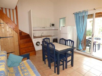 Photo for APARTMENT FOR 6 PEOPLE IN RESIDENCE WITH SWIMMING POOL MAS DES MANADIERS