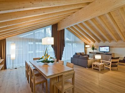 Photo for Apartment in the center of Zermatt with Internet, Pool, Lift, Balcony (45937)