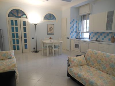 Photo for Apartment in the center of Minori, near the sea, ideal for families and friends