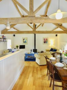 Photo for The Hay Loft at Glanhenwye Courtyard Cottages - 4 bedrooms