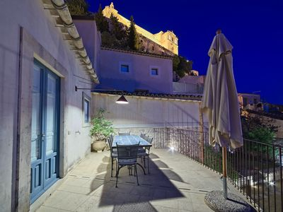 Photo for Elio, apartment with garden, terrace and panoramic view
