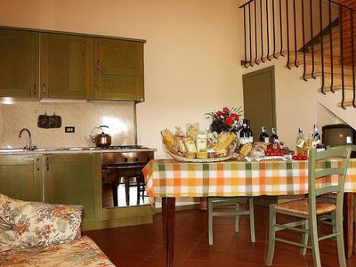 Photo for 2BR Apartment Vacation Rental in Montepulciano, Toscana