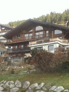 Photo for CHALET LA VORAZ Apartment **** upscale, spa, steam room