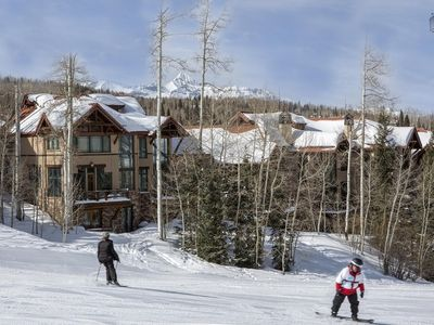 Photo for Ski-in/Out Luxury Townhome, Walk to Gondola, Amazing Views: Trailside at Pine Meadows
