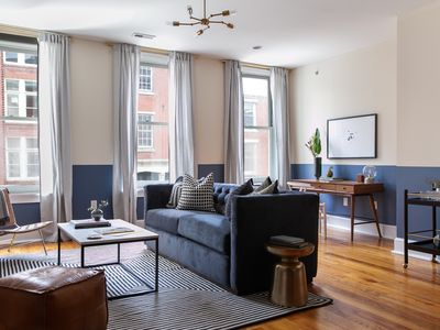 Photo for Domio | Old City | Prime 2BR Apartment Near The Liberty Bell