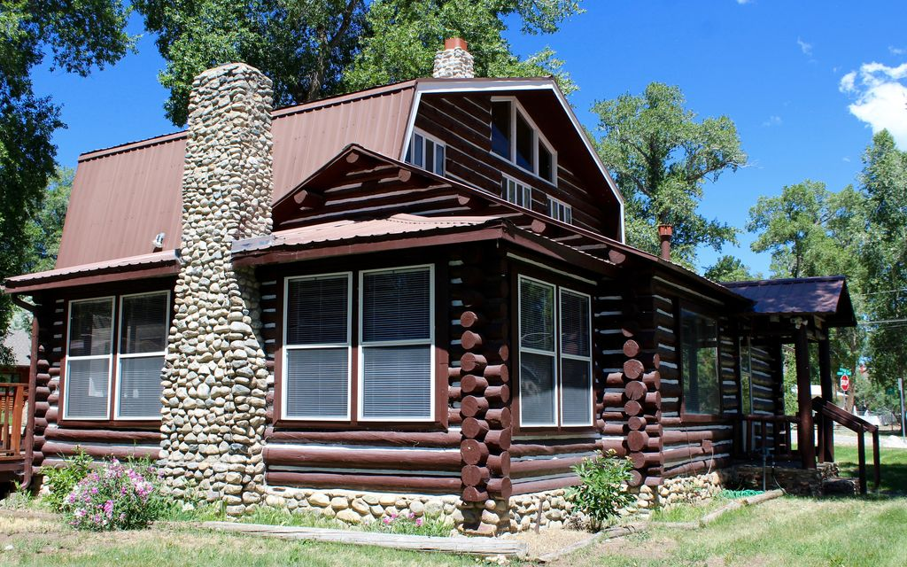 The cabin on san juan buena vista south central colorado for Buena vista co cabins rentals