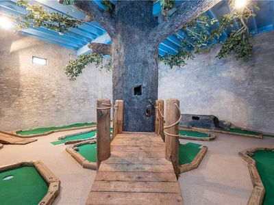 Photo for **Beyond Expectations** | Private Mini-Golf | Theater Room | Multi-cade Game | Mountain Views | WiFi