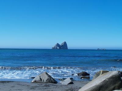 Photo for Honeymoon Cove House - Ocean Front Seclusion, Hot Tub, Private Beach,