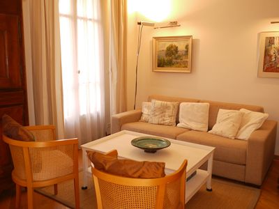 Photo for Rossini - a spacious one bedroom apartment in central Nice