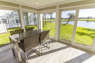 Dine with a View! - Bring dinner outside and enjoy the calm waters of the pond right outside your door.