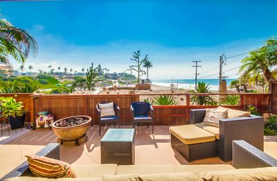 Moonlight Beach Ocean Views - Steps To Sand - Monthly Pricing Available -  Encinitas