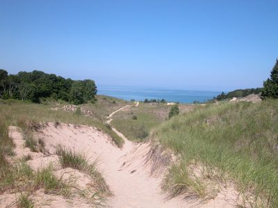 Photo for Warren Dunes-2000 Acre Park On Lake Michigan, Hot Tub, WBFPL , Wineries, 2BR/2BA
