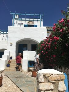 Photo for Villa Florida - Traditional Greek house 6/8 people ASPRO CHORIO - PAROS