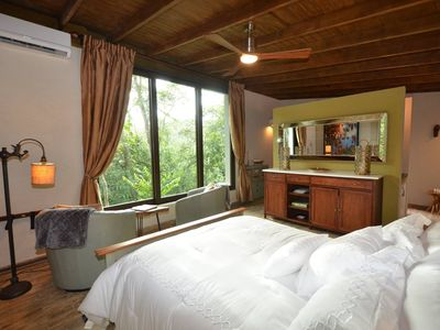Photo for Boutique Inn. Luxury cabins in the Puerto Rican Rainforest. Cabin #1 Queen Bed