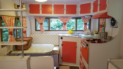 Photo for Glamping in a 1965 Vintage Camper