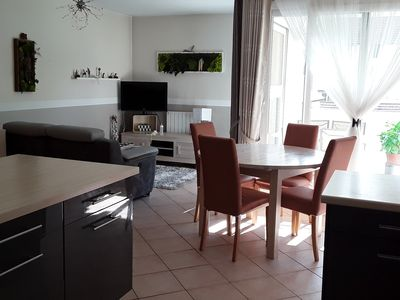 Photo for T3 ideally located very nice, comfortable, near lake and center.