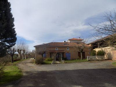 Photo for Apartment located on the first floor of a fully renovated farm with swimming pool