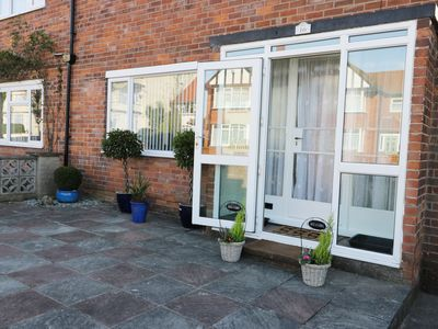 Photo for SEASIDE VIEW, pet friendly, with a garden in Bridlington, Ref 968819
