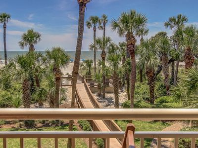 Photo for 412 Captains Walk-Oceanfront Views,Heated Pool & Spa - Pretty!