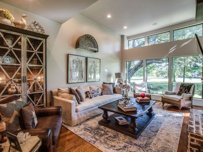 Photo for Luxury Golf Course View Town Home in North Dallas