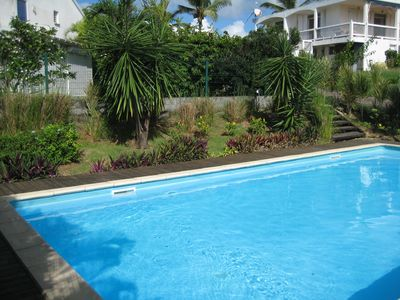 Photo for Nice apartment, pool, close to the sea (checks accepted)